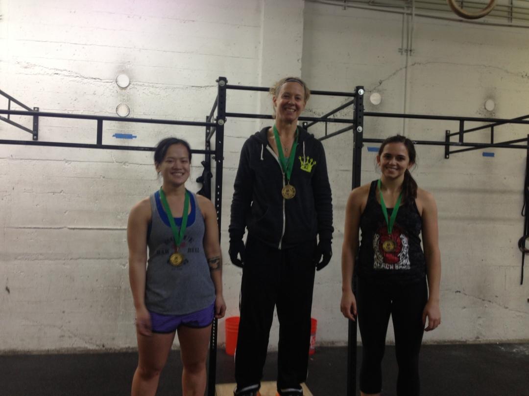 RX Women winners
