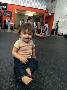 Crossfit baby Joey!